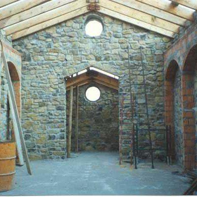 Foto 10 - interno in costruzione